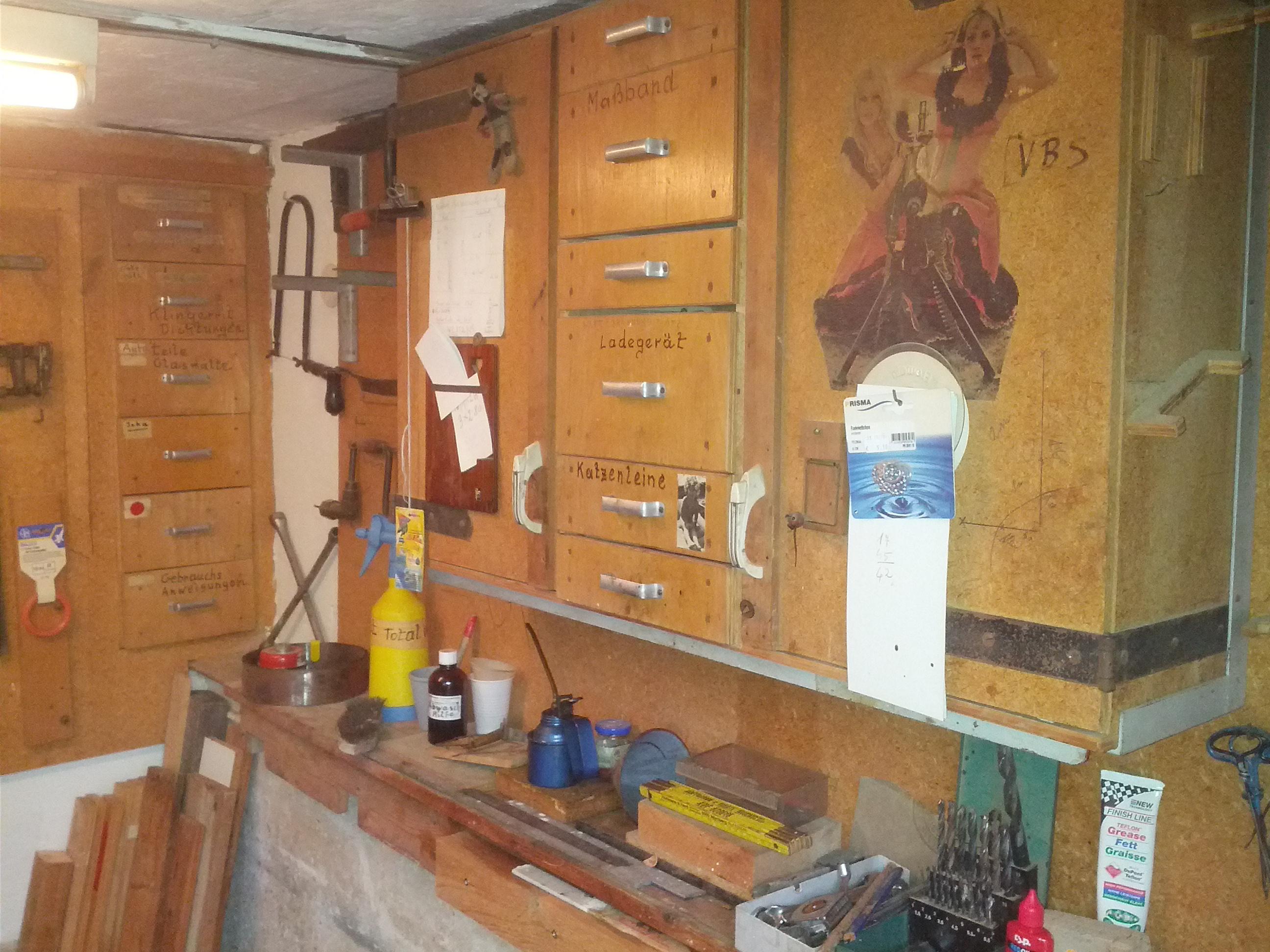 Die alte Werkstatt