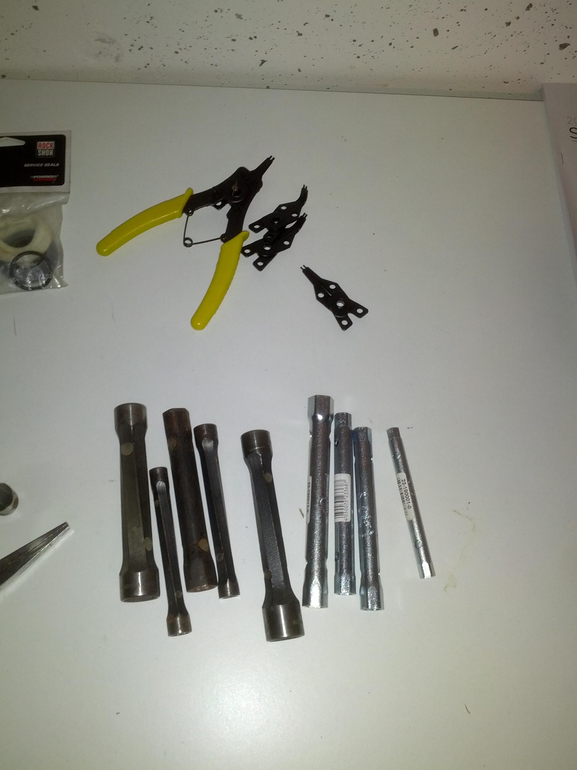 Passendes Werkzeug